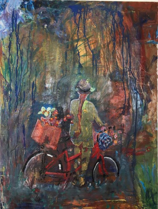Bicycle in the path of nostalgy